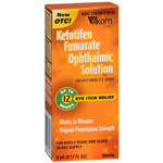 Zaditor Ketotifen Fumarate Ophthalmic Solution for Eye Itch Relief Solution - 0.17 oz (5 ml)