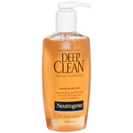 Neutrogena Deep Clean Facial Cleanser for Normal to Oily Skin - 6 oz