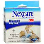 "3M Nexcare Reusable Cold Pack, 4"" x 10"""