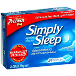 Simply Sleep Sleep Aid, 25 mg