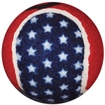 Duro-Med Walkerballs Patriotic; 1 Pair