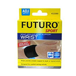 Futuro Adjustable Sport Wrap Around Wrist Support, Black, 1 ea