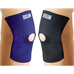 FLA Orthopedics Safe-T-Sport Thermal Neoprene Extra Large Navy Knee Sleeve