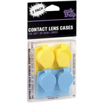 Optik Shop Contact Lens Cases, 2 pack