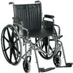 Sunrise Wheel Chair Easy Care18""
