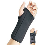 FLA Professional Wrist Splint Brace Black Small Left