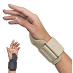 FLA Orthopedics CarpalMate Wrist Support, Black