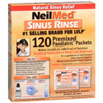 NeilMed Sinus Rinse Pediatric Packets, 120 ea