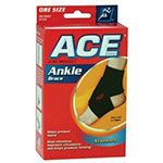 Ace Adjustable Neoprene Ankle Support, One Size