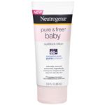 Neutrogena Pure & Free Baby Sunscreen Lotion SPF 60, 3 oz