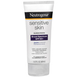 Neutrogena Sunscreen Lotion For Sensitive Skin SPF 60, 3 oz
