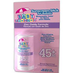 Baby Blanket Sunscreen Stick For Babies with Zinc Oxide SPF 45, 0.7 fl oz