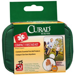 Curad Compact First Aid Kit, 75 pc