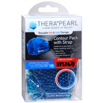 TheraPearl Hot or Cold Therapy Contour Pack with Adjustable Strap, 1 ea