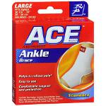 Ace Knitted Ankle Support, Large 207302