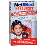 NeilMed NasaDrops Single Use Vials, 15 ea