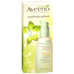 Aveeno Positively Radiant Daily Defense Sunscreen SPF 30, 2.5 oz