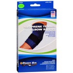 Sportaid Elbow Brace Neoprene Blue Medium, 1 ea