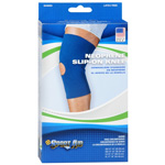"Sportaid Neoprene Slip-On Knee Brace Open Patella, Blue Small 13""-14"", 1 ea"