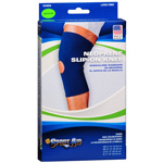 "Sportaid Neoprene Slip-On Knee Brace Open Patella, Blue Medium 14""-15"", 1 ea"