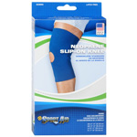 "Sportaid Neoprene Slip-On Knee Brace Open Patella, Blue Xlarge 17""-19"", 1 ea"