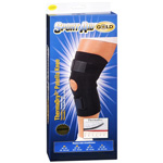 "Sportaid Knee Brace Open Patella Blue Neoprene Medium 14""-15 """