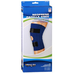 "Sportaid Knee Brace Open Patella Blue Neoprene Xlarge 17'-19 "", 1 ea"