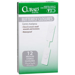 "Curad Butterfly Closures 1.75X.37"", 12 ea"