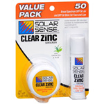 Solar Sense Value Pack SPF 50, 0.5 oz Jar and 0.45 oz Stick