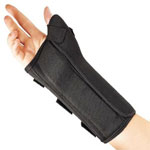 FLA Orthopedics ProLite Wrist Brace with Abducted Thumb, Medium, Right Wrist