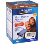 Lifesource Automatic Blood Pressure Monitor with Small Cuff