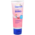 Coppertone Water Babies Lotion SPF 50, Travel Size, 3 oz
