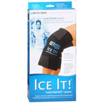 "Battle Creek Ice It! Cold Comfort Knee System 12"" x 13"""