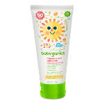 BabyGanics Cover Up Baby Sunscreen for Face and Body SPF 50+, Fragrance Free, 6 oz