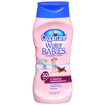Coppertone Water Babies Sunscreen Lotion, SPF 50 8 fl oz