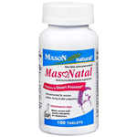 Mason Natural MasNatal Multivitamin/Multimineral Supplement, 100 tablets