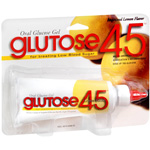 Glutose 45 mg Dose, Oral Lemon Glucose Gel, 3 doses of 15 gr