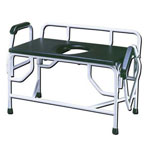 Bariatric Drop-Arm Commode Super Heavy Duty Ex-Large