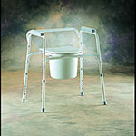 All-In-One Commode, 1 ea