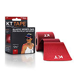 KT TAPE Original, Pre-cut, 20 Strip, Cotton, Red