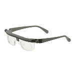 Adlens Emergensee Variable Focus Eyewear, Light Grey/Dark Grey Frame