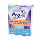 RepHresh Pro-B Probiotic Feminine Supplement Capsules, 30 ea