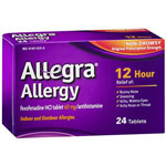 Allegra Allergy 12 Hour Non-Drowsy, 24 ea