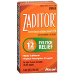 Zaditor Zaditor Eye Itch Relief Drops, 0.17 oz