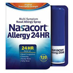 Nasacort Spray Allergy 24 hr, 0.57 fl oz