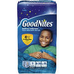 Goodnites Bedtime Underwear for Boys, L/XL