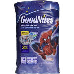 Goodnites Bedtime Underwear for Boys, S/M