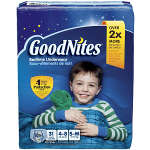 Goodnites® Youth Pants for Boys Small/Medium Big Pack, 31 ea