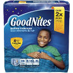 GoodNites® Youth Pants for Boys Large/XL Big Pack, 24 ea