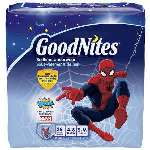 Goodnites Youth Pants for Boys Small/Medium, Mega Pack 26 ea